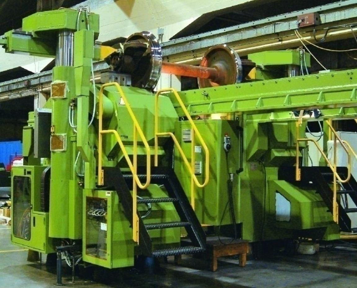 UNDERFLOOR WHEEL LATHES